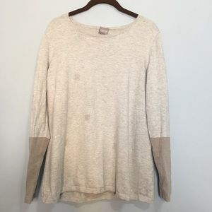 Chico's size 2 colorblock long sleeve top